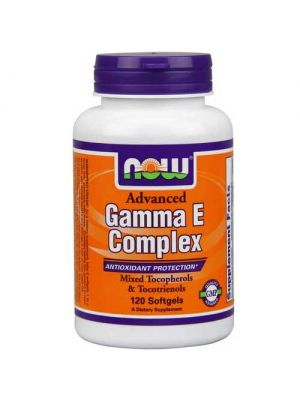 Now Foods Advanced Gamma E 120 Softgels