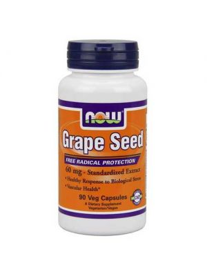 Now Foods Grape Seed 60mg 90 Vege Caps