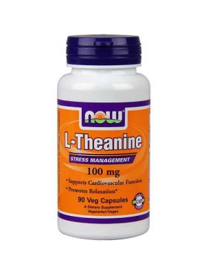 Now Foods Theanine 100 Mg 90 Vegetable Capsules