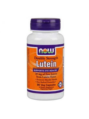 Now Foods Lutein 20 Mg (From Esters) 90 Vegetable Capsules