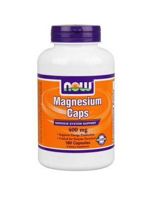 Now Foods Magnesium 400 Mg 180 Capsules