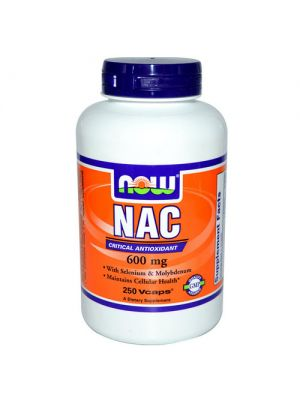 Now Foods NAC 600mg 250 Vege Caps