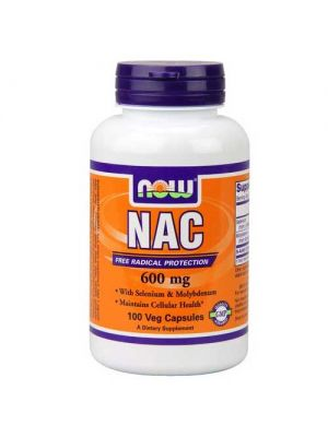 Now Foods NAC 600 Mg 100 Vegetable Capsules