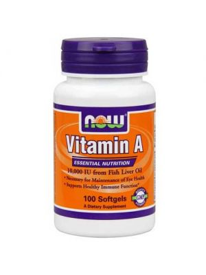 Now Foods A 10000 IU 100 Softgels