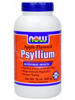 Now Foods Apple Psyllium 12 oz