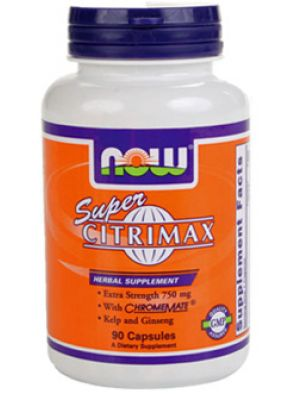 Now Foods Super Citrimax Garcinia Cambogia Extract 90 Capsules
