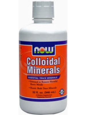 Now Foods Colloidal Minerals Original  Flavor 32 oz