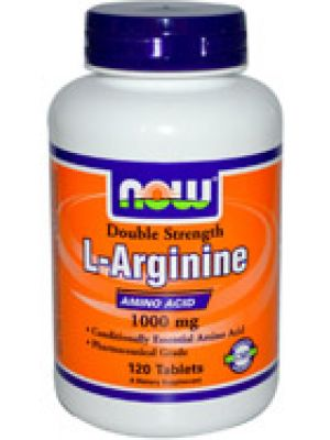 Now Foods L-Arginine 1000mg 120 Tabs