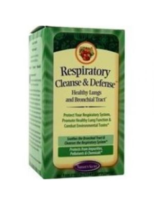 Nature's Secret Respiratory Cleanse and Defense 60 Tabs