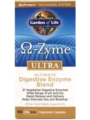 Garden of Life Omega-Zyme Ultra 180 Vege-Caps