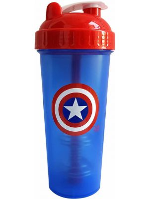PerfectShaker Captain America Shaker Bottle 28oz