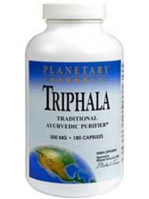 Planetary Formulas Triphala Internal Cleanser 500mg 180 Caps