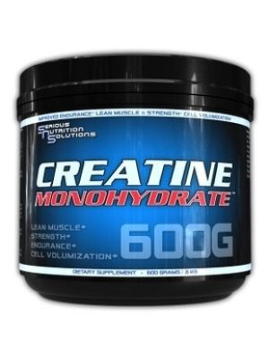 Serious Nutrition Solutions Creatine Monohydrate 600 Grams