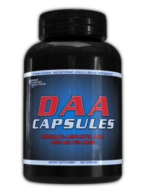 Serious Nutrition Solutions DAA 3120mg 180 Caps
