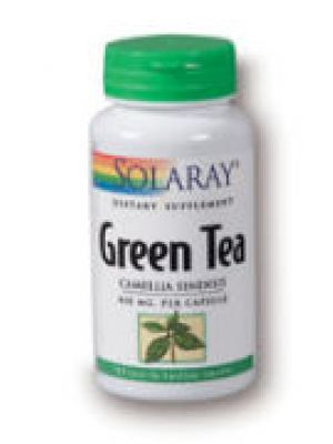 Solaray Green Tea 450mg 100 Caps