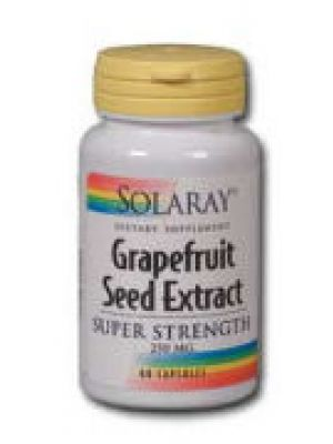 Solaray Grapefruit Seed Extract Super Strength 250mg 60 Caps