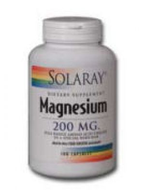 Solaray Magnesium AAC 200mg 100 Caps