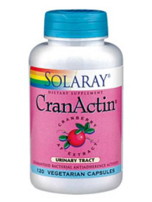 Solaray Cranactin Cranberry AF Extract 120 Caps