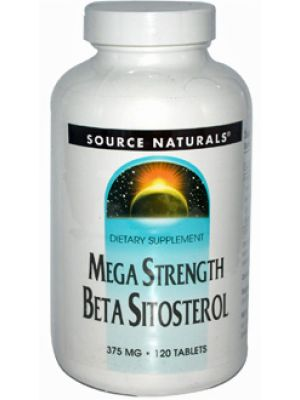 Source Naturals Beta Sitosterol Mega Strength 375mg 120 Tablets