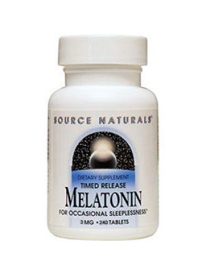 Source Naturals Melatonin Timed Release 3mg 60 Tabs