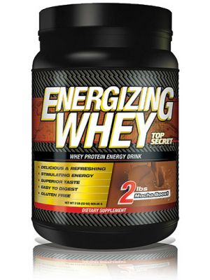Top Secret Nutrition Energizing Whey Mocha Boost 22