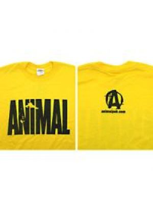 Universal Animal Iconic Tee Yellow X-Large