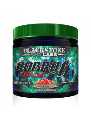 Blackstone Labs Cobra 6P Extreme 60 Servings