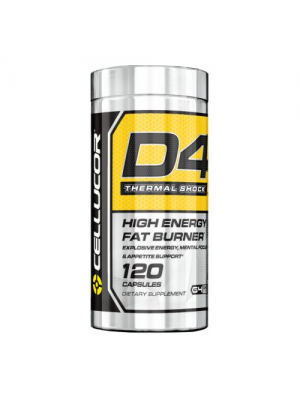 Cellucor D4 Thermal Shock 120 Caps