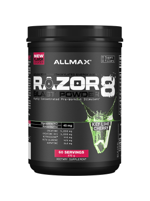 Allmax Nutrition Razor 8 Blast Powder 60 Servings