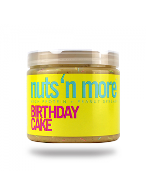 Nuts 'N More Birthday Cake Peanut Butter 16 Oz