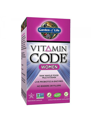 Garden of Life Vitamin Code Women's Formula 120 Vege Caps