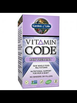 Garden of Life Vitamin Code Raw Prenatal 180 Caps