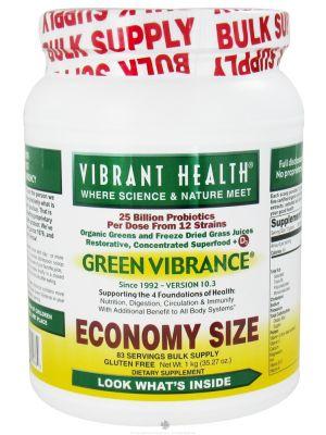Vibrant Health Green Vibrance Economy Size 1000 Grams