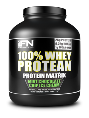 IFORCE 100% Whey Protean 4.3 Lbs