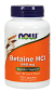Now Foods Betaine HCl 648mg with 150mg of Pepsin 120 Caps