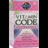 Garden of Life Vitamin Code 50 and Wiser Womens Formula 240 Vege Caps