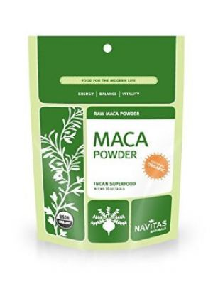 Navitas Naturals Raw Maca Powder (Certified Organic) 8 Oz