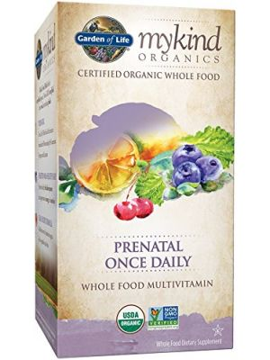 Garden of Life Kind Organics Prenatal Once Daily Multi 30 Tabs
