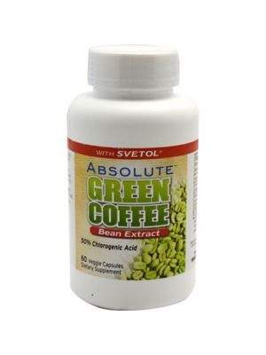Absolute Nutrition Green Coffee Bean Extract with Svetol 60 Veggie Caps