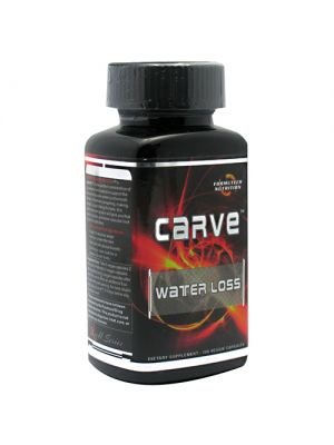 Formutech Nutrition Carve Water Loss 100 Caps