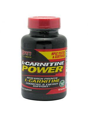SAN L-Carnitine Power  60 Capsules
