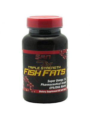 SAN Triple Strength Fish Fats  60 soft gels