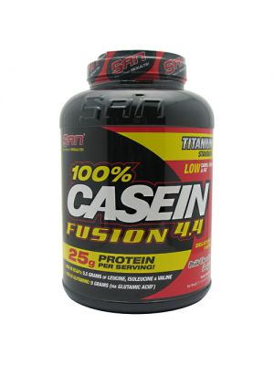 SAN 100% Casein Fusion 4.4 Milk Chocolate Delight 4.44 lbs - 2016 g
