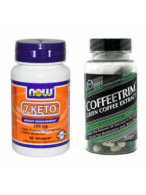 Belly Fat Burning Stack (7-Keto DHEA & Green Coffee Bean Extract)