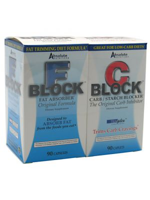 Absolute Nutrition Dynamic Duo (F Block & C Block) 1 Pair