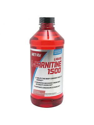Met-Rx Liquid L-Carnitine 1500 Natural Watermelon 16 oz (473 ml)