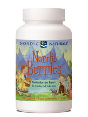 Nordic Naturals Nordic Berries 120 Chews