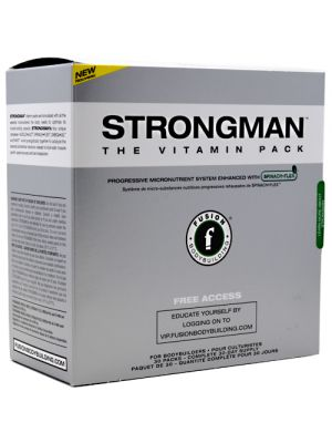 Fusion Bodybuilding Strongman 30 Packs