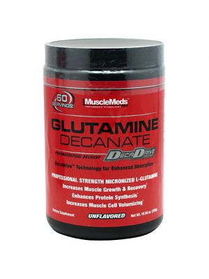 MuscleMeds Glutamine Decanate Unflavored 300 Grams