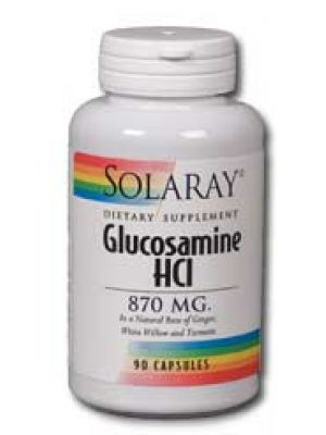 Solaray Glucosamine HCl 870mg 90 Caps